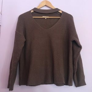 ✨Brown knit sweater✨